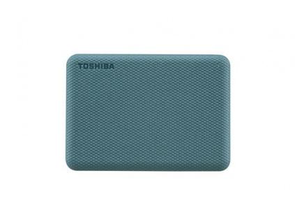 """TOSHIBA HDD CANVIO ADVANCE (NEW) 1TB, 2,5"""", USB 3.2 Gen 1, zelená / green, HDTCA10EG3AA"""