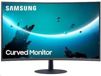 "Samsung MT LCD 32""C32T550FDR - prohnutý, VA panel, 1920x1080, HDMI, DP, 4ms, 75HZ,repro, LC32T550FDRXEN"