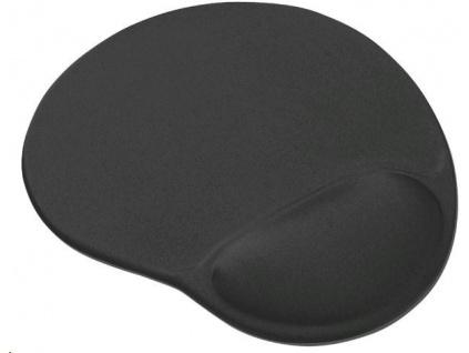 TRUST Podložka pod myš Bigfoot Gel Mouse Pad, černá, gelová, 16977