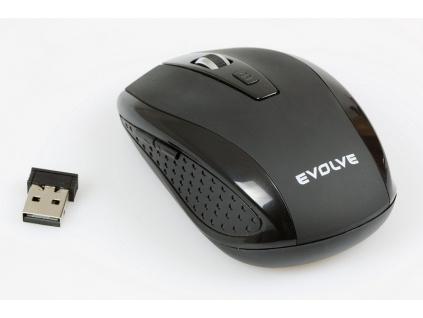 EVOLVEO WM-242B bezdrátová myš, WM-242B