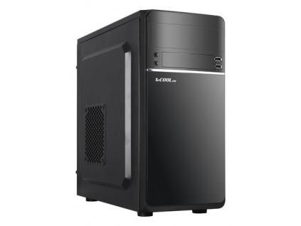 1stCOOL MicroTower STEP 1 USB3, ver.2, black černý, bez zdroje, microtower mATX (1xUSB2+ 1xUSB3+ Audio) (PC case), MC-STEP1-AU-USB3