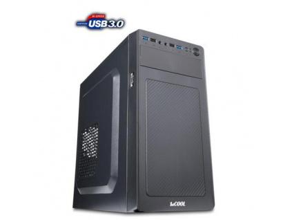 1stCOOL MicroTower STEP 3 USB3, ver.2, black černý, bez zdroje, microtower mATX (2xUSB3, 2xUSB2, Audio) (PC case), MC-STEP3-AU-USB3