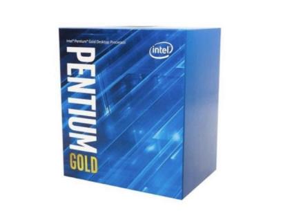 INTEL cpu PENTIUM GOLD G6405 socket1200 Comet Lake BOX 58W 10.generace (s chladičem, 4.1GHz, 2x jádro, 4x vlákno, 4MB cache, pro DDR4 do 2666, grafika UHD 610), virtualizace, BX80701G6405