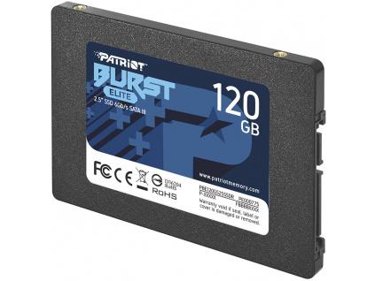"PATRIOT BURST ELITE 120GB SSD / Interní / 2,5"" / SATA 6Gb/s /, PBE120GS25SSDR"