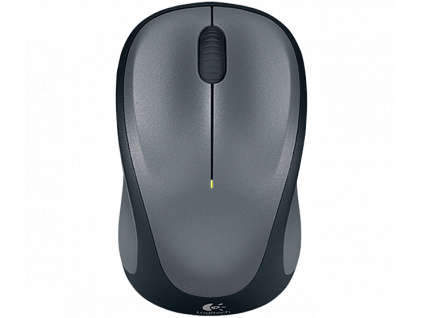 myš Logitech Wireless Mouse M235 nano, QuickSil