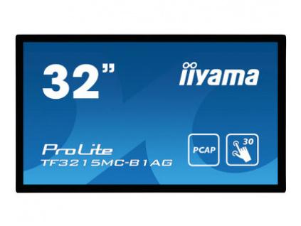 32'' iiyama TF3215MC-B1AG: FullHD,capacitive, 500cd/m2, VGA, HDMI, černý, TF3215MC-B1AG