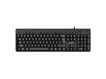 Genius KB-116 Classic USB klávesnice, černá, CZ+SK layout, 31300008403