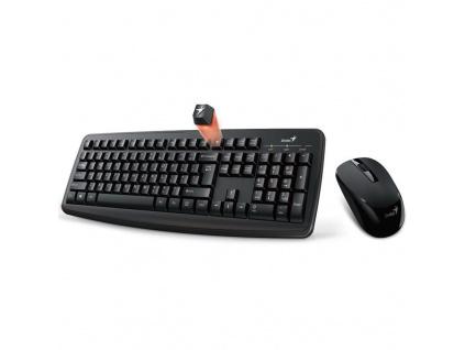 Genius Smart KM-8100, bezdrátový set klávesnice a myši, CZ+SK layout, 31340004403