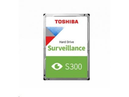 "TOSHIBA HDD S300 Surveillance (CMR) 1TB, SATA III, 5400 rpm, 128MB cache, 3,5"", BULK, HDWV110UZSVA"