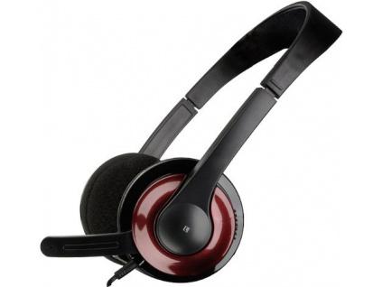 SPEED LINK Sluchátka s mikrofonem SNAPPY Stereo Headset (červená), SL-8729-SRD