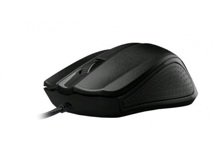 C-TECH myš WM-01, černá, USB, WM-01BK
