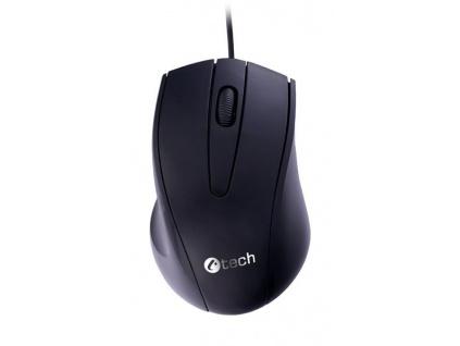 C-TECH myš WM-07, černá, USB, WM-07