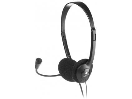 NGS headset MS103/ 3,5 mm Jack/ Černé, MS103