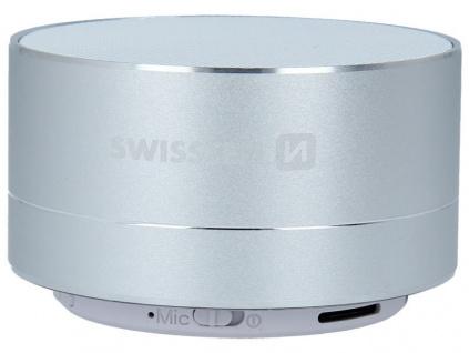 Swissten Bluetooth Reproduktor I-Metal Stříbrný, 52104432
