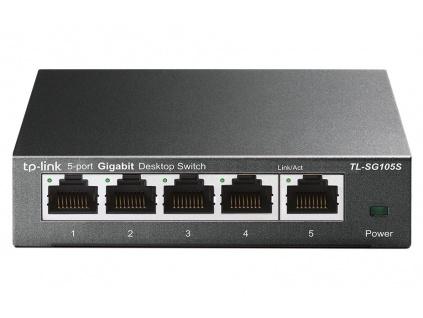 TP-Link TL-SG105S 5portový gigabitový switch, TL-SG105S