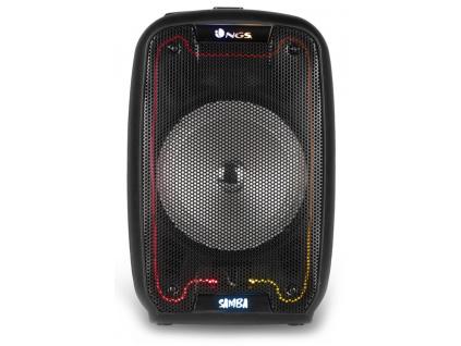 NGS WILDSAMBA/ BT repro/ 30W/ LED/ USB/ Černé, WILDSAMBA