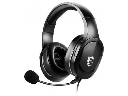 """MSI herní headset IMMERSE GH20/ náhlavní/ 3,5"""" jack, S37-2101030-SV1"""