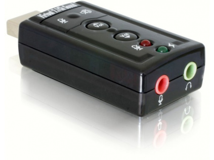 DeLock USB audio adaptér Virtual 7.1, 61645