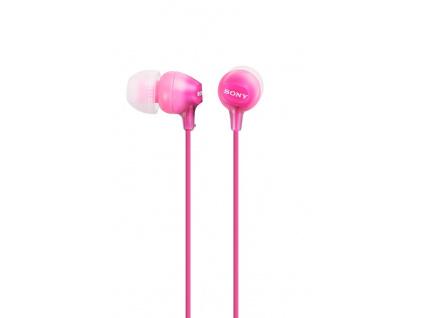 SONY sluchátka MDR-EX15LP, růžové, MDREX15LPPI.AE