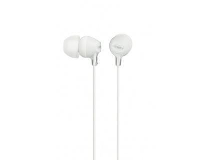 SONY sluchátka MDR-EX15LP, bílé, MDREX15LPW.AE