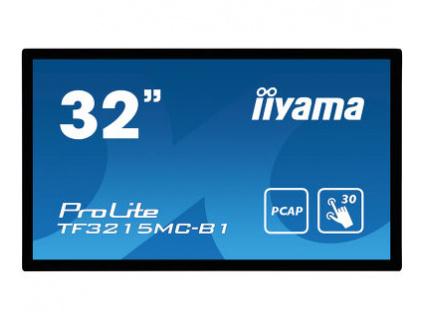 32'' iiyama TF3215MC-B1: FullHD, capacitive, 500cd/m2, VGA, HDMI, černý, TF3215MC-B1