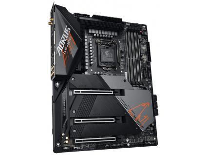 GIGABYTE Z590 AORUS MASTER / Intel Z590 / LGA 1200 / 4x DDR4 DIMM / 3x M.2 / DP USB-C / ATX, Z590 AORUS MASTER