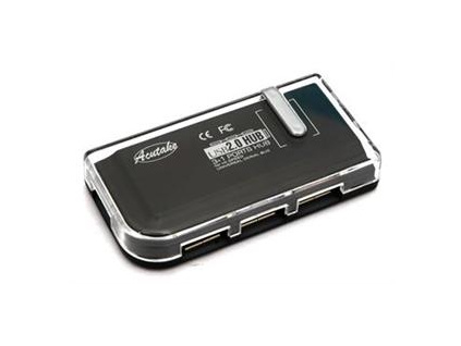 ACUTAKE DarkHub 1 (USB Hub 2.0) BLACK