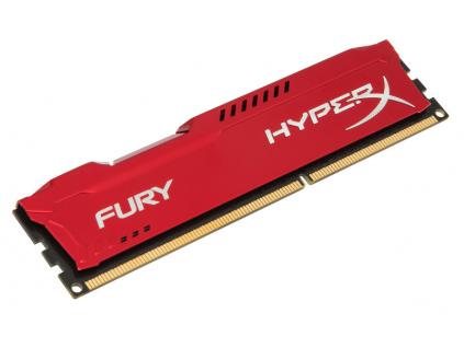 4GB DDR3-1866MHz Kingston HyperX Fury Red, HX318C10FR/4