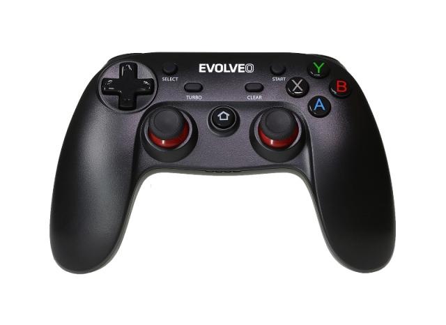 EVOLVEO Fighter F1, bezdrátový gamepad pro PC, PlayStation 3, Android box/smartphone, GFR-F1
