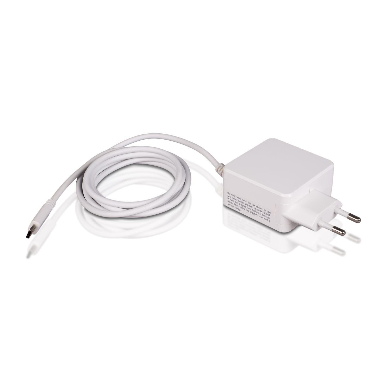 WHITENERGY WE AC adaptér 20V/15V/12V/9V/5V/3.0A 45W konektor USB-C, 10576