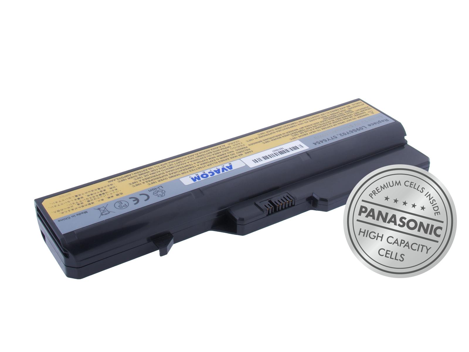 Baterie AVACOM NOLE-G560-P29 pro Lenovo G560, IdeaPad V470 series Li-Ion 10,8V 5800mAh 63Wh, NOLE-G5