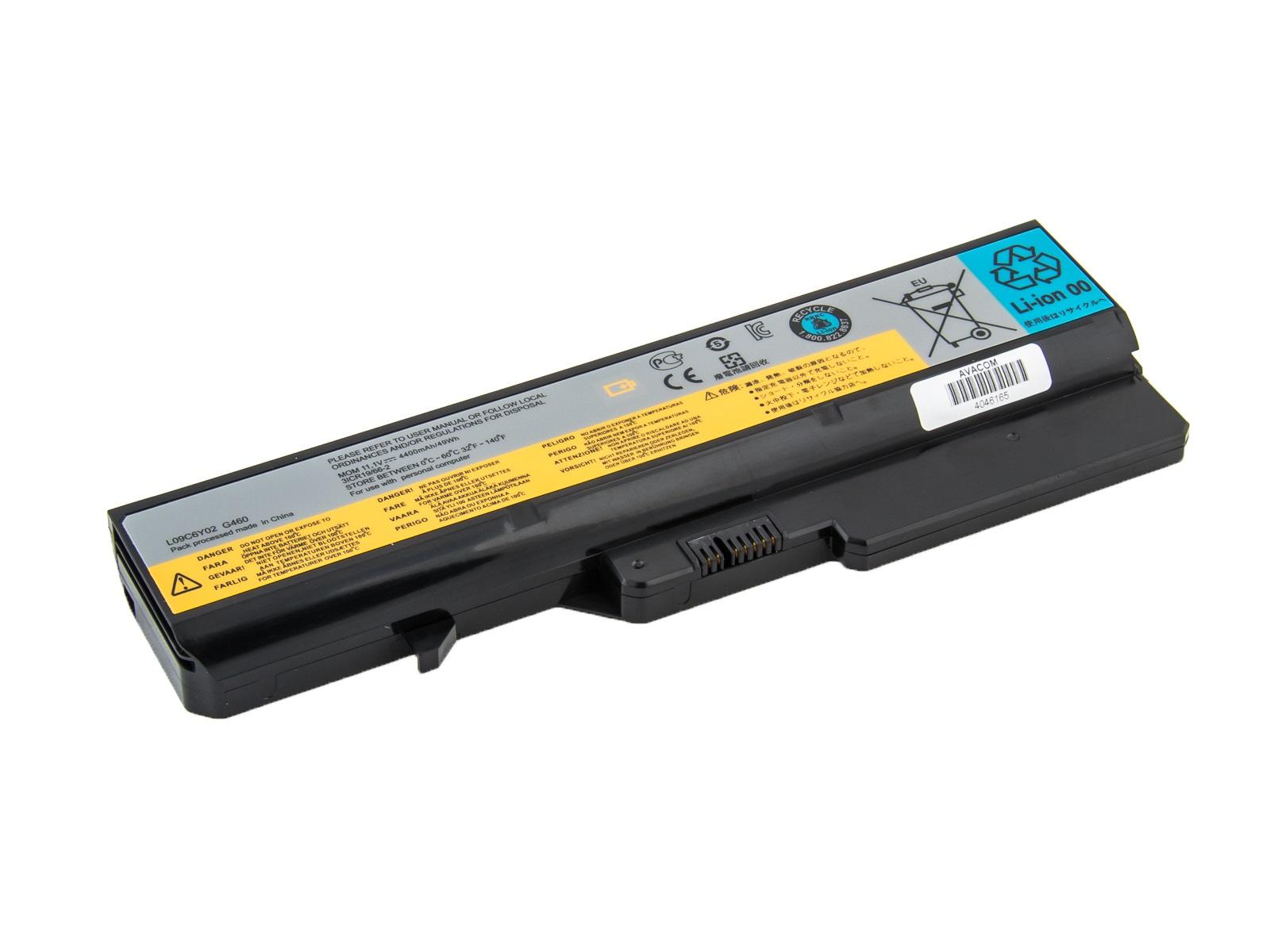 Baterie AVACOM NOLE-G560-N22 pro Lenovo G560, IdeaPad V470 series Li-Ion 10,8V 4400mAh, NOLE-G560-N2