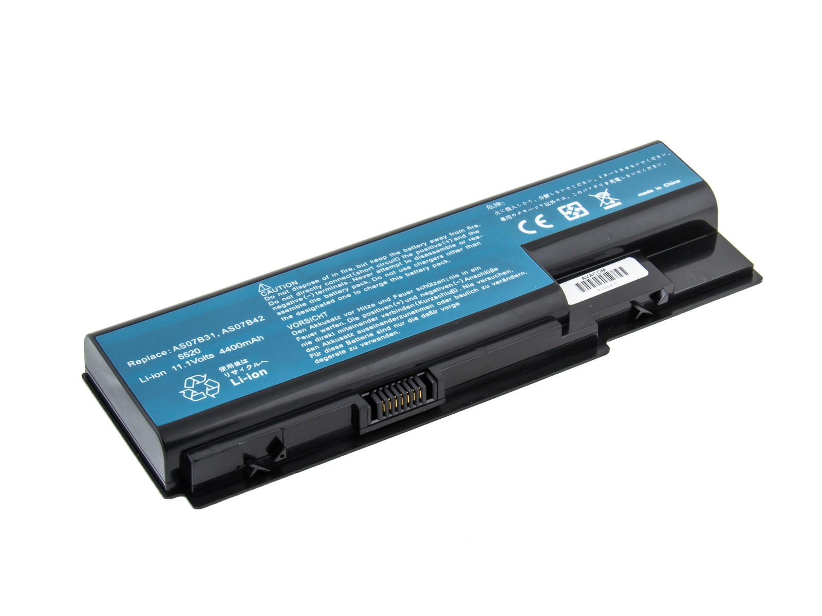 Baterie AVACOM NOAC-6920-N22 pro Acer Aspire 5520/6920 Li-Ion 10,8V 4400mAh, NOAC-6920-N22