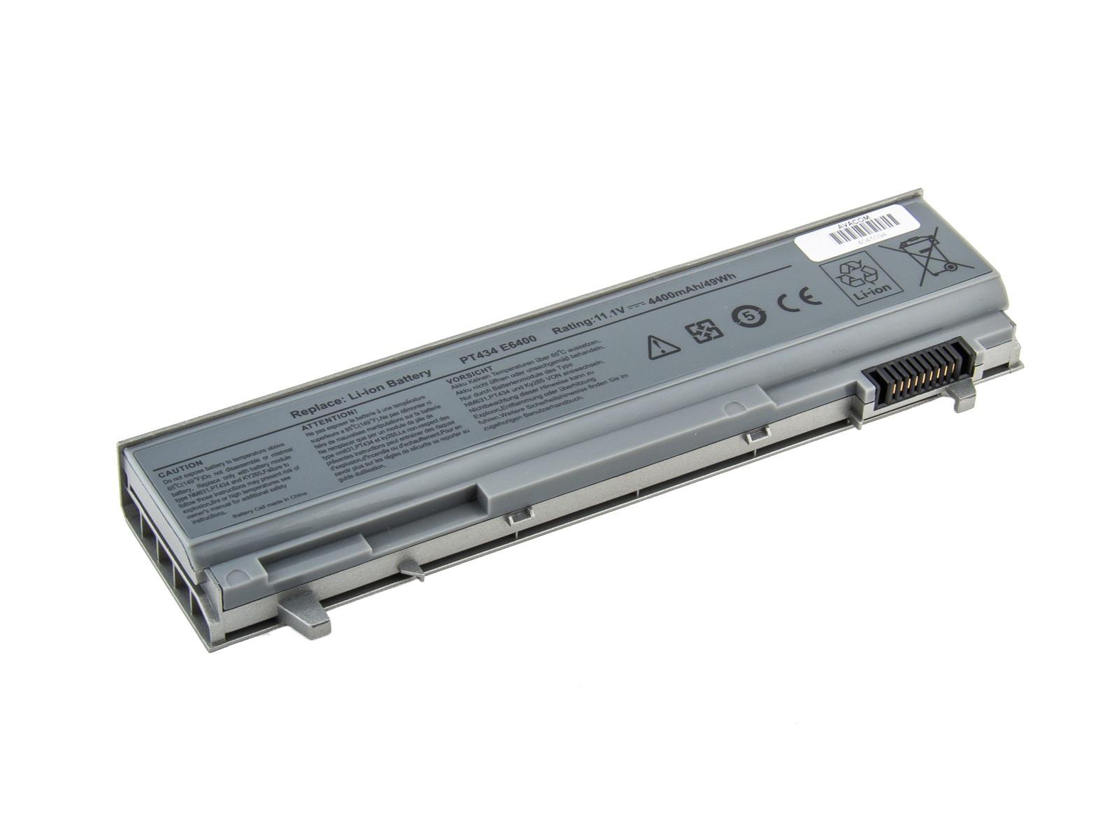 Baterie AVACOM NODE-E64N-N22 pro Dell Latitude E6400, E6410, E6500 Li-Ion 11,1V 4400mAh, NODE-E64N-N22