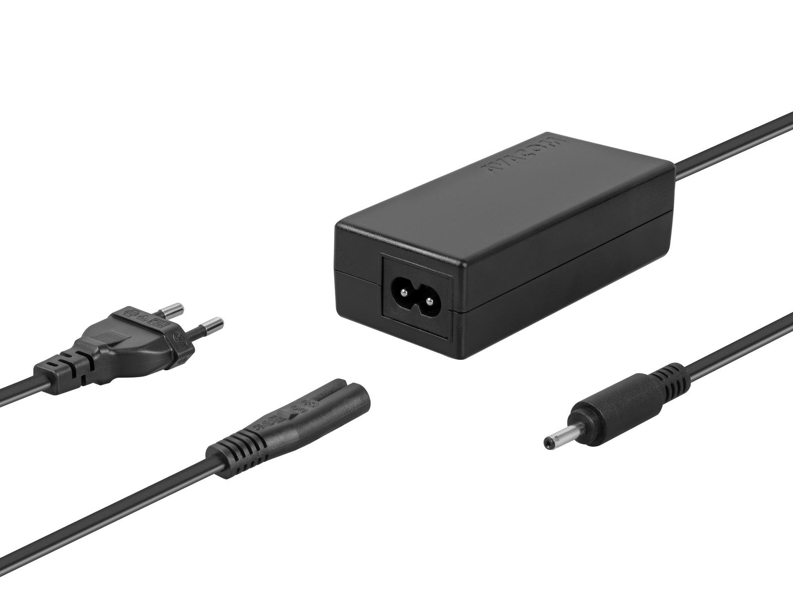 AVACOM nabíjecí adaptér pro notebooky Asus ZenBook 19V 2,37A 45W konektor 3,0mm x 1,0mm, ADAC-AS4-A4