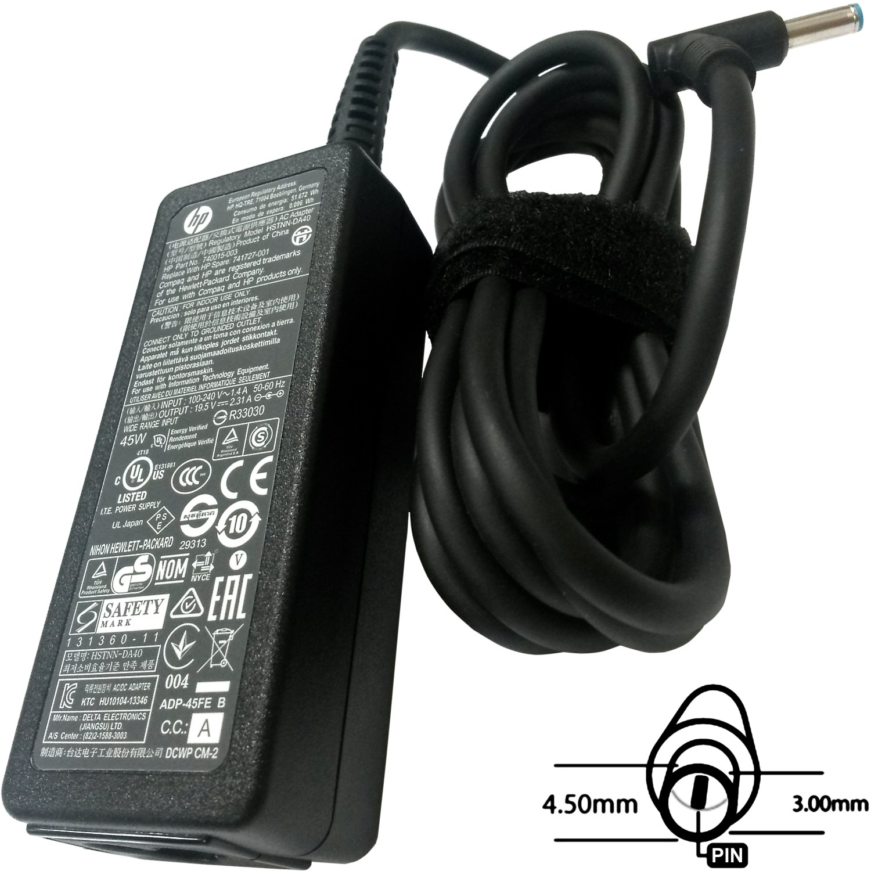 SIL Napájecí adaptér 45W, 19,5V 4.5x3.0mm, originál HP, 77011108
