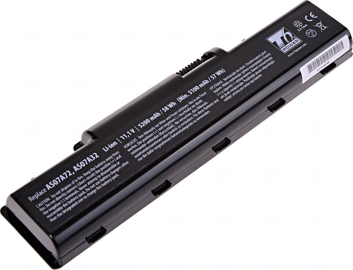 Baterie T6 power Acer Aspire 2930, 4220, 4310, 4520, 4720, 4730, 4920, 4930, 5517, 6cell, 5200mAh, N