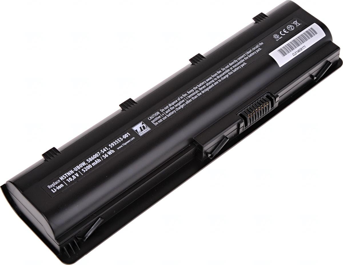 Baterie T6 power HP Pavilion dv3-4000, dv4-4000, dv5-2000, dv6-3000, dv7-4000 serie, 6cell, 5200mAh, NBHP0067