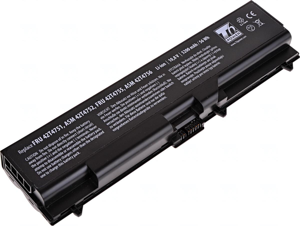 Baterie T6 power Lenovo ThinkPad T410, T420, T510, T520, L410, L420, L510, L520, 6cell, 5200mAh, NBI
