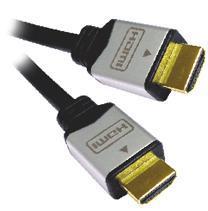 PremiumCord kabel HDMI M/M, zlac.a kovové HQ, 10m, kphdmg10