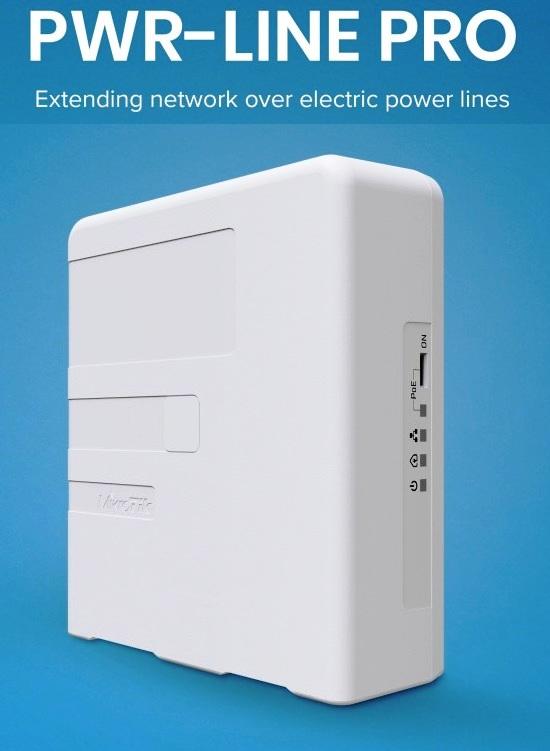MikroTik PL7510Gi Powerline adaptér PWR-LINE PRO, PL7510Gi