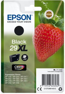 Epson Singlepack Black 29XL Claria Home Ink, C13T29914012
