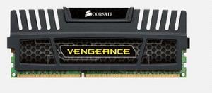 CORSAIR 8GB DDR3 1600MHz VENGEANCE BLACK PC3-12800 CL9-9-9-24 (s chladičem Vengeance černý, pro INTEL i7/i5/i3 a pro AMD, 1.5V), CMZ8GX3M1A1600C9