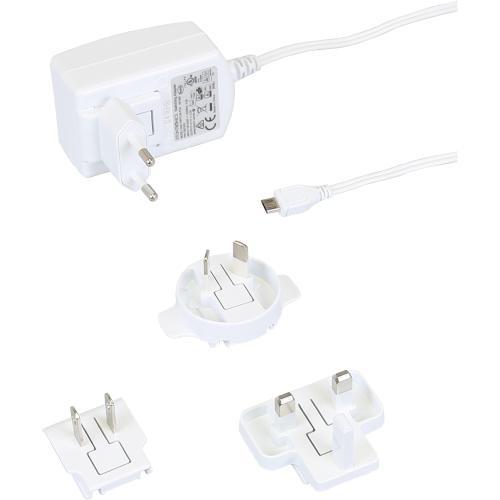 RASPBERRY PI napájecí adaptér 2,5A pro Rpi 3, bílá, RB-Netzteil3-W