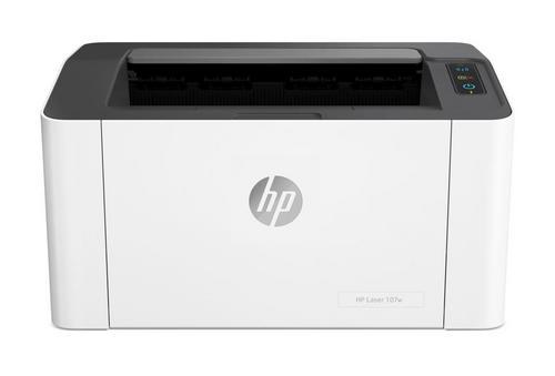 HP Laser 107w, A4 tiskárna USB 2.0 + wifi, 1200x1200dpi, až 20 stran za minutu, 4ZB78A#B19