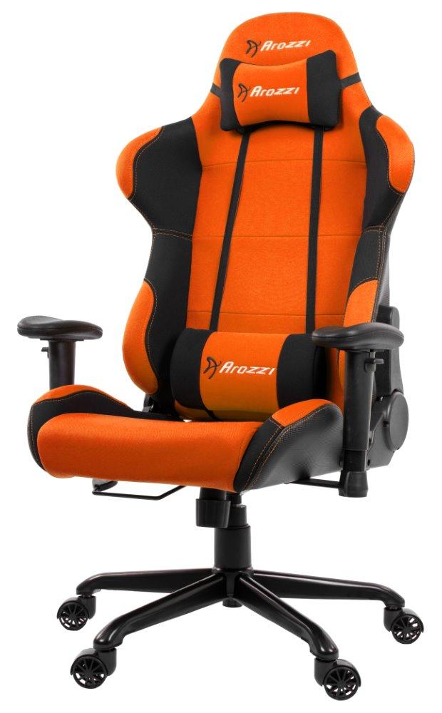 AROZZI herní židle TORRETTA/ černooranžová, TORRETTA-OR