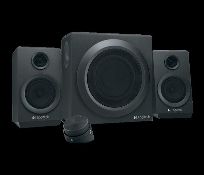 repro Logitech Z333, 40W RMS, 2.1 zvukový systém, 980-001202