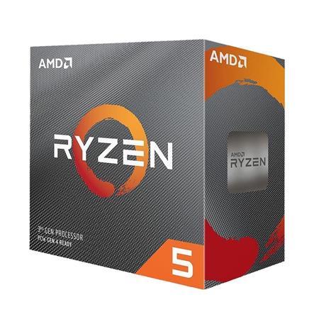 AMD cpu Ryzen 5 3600 AM4 Box (6core, 12x vlákno, 3.6GHz / 4.2GHz, 32MB cache, 65W), s chladičem Wrai