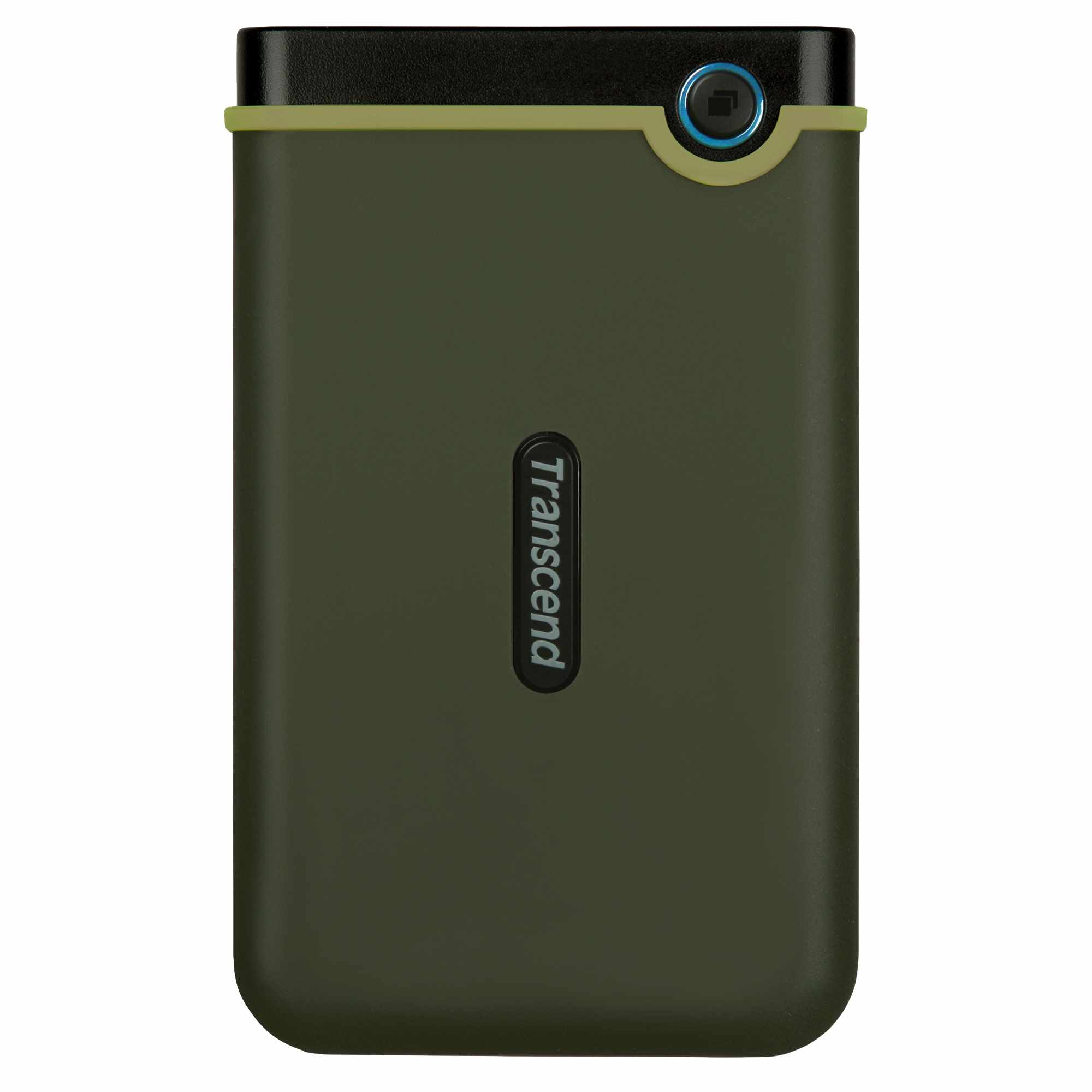 "TRANSCEND externí HDD 2,5"" USB 3.0 StoreJet 25M3G, Slim, 2TB, Black (SATA, Rubber Case, Anti-Sh"
