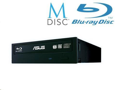 ASUS BLU-RAY Combo BC-12D2HT/BLK/B/AS, black, SATA, bulk (bez SW), 90DD0230-B30000